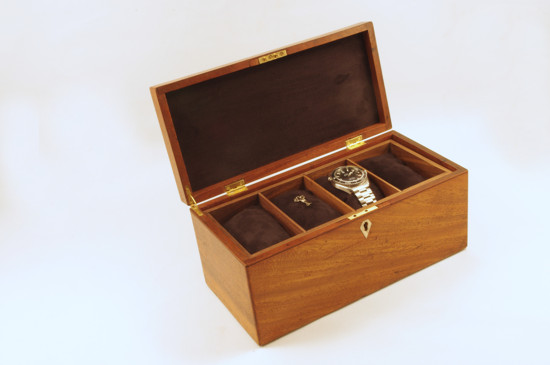Watch Box by Kathy & Jim Sawada, Toronto, Canada