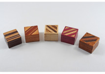 Handcrafted Exotic Wood Ring Boxes by Kathy & Jim Sawada, Toronto, Canada