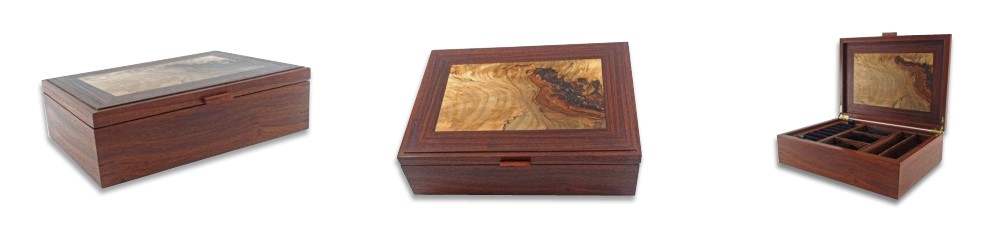 Exotic Wood Watch Boxes by Jim Sawada, Toronto, Canada